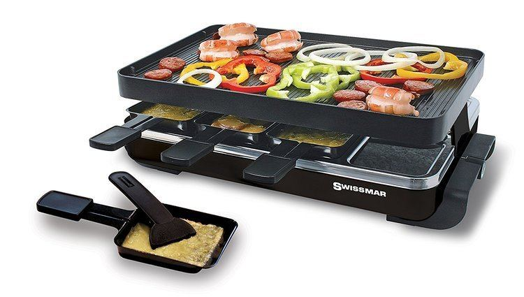 Raclette Amazoncom Swissmar KF77041 Classic 8Person Raclette Party Grill
