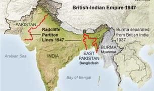 Radcliffe Line Radcliffe Line to divide IndiaPakistan was formed this day Read