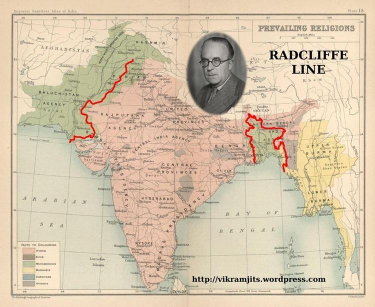Radcliffe Line The Radcliffe Award Our Heritage