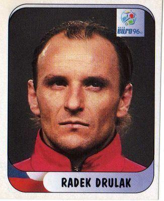 Radek Drulák CZECH REPUBLIC Radek Drulak 202 MERLIN UEFA Euro 96 England