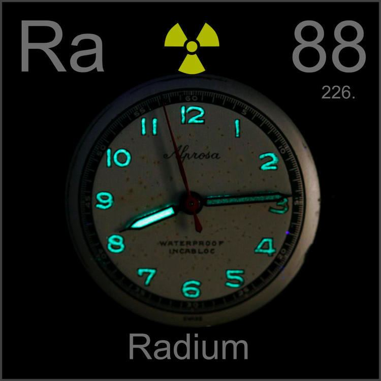 Radium Pictures stories and facts about the element Radium in the