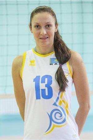 Radmila Beresneva Player Radmila Beresneva Womens World Olympic Qualification