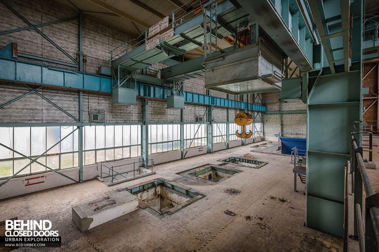 RAE Bedford RAE Bedford Wind Tunnel Site Thurleigh UK Urbex Behind Closed
