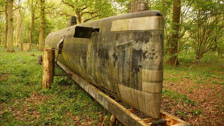 RAF Finmere Midget Submarine At RAF Finmere John Grech Flickr