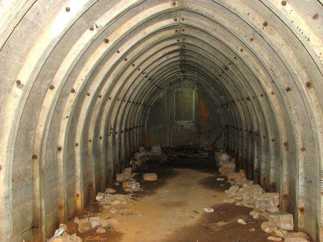 RAF Hethel Air raid shelter on Site 5 RAF Hethel Evelyn Simak ccbysa20