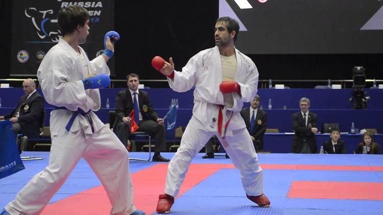 Rafael Aghayev Aghayev Rafael AZE Rayushkin Andrey RUS Karate1