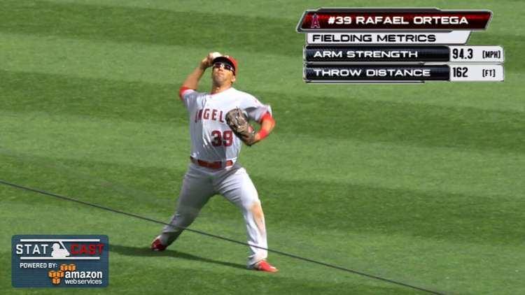 Rafael Ortega (baseball) Rafael Ortega wows Angels with laser throw MLBcom