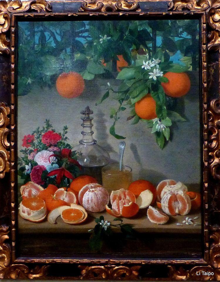 Rafael Romero Barros Rafael Romero Barros Bodegn de naranjas 1863 Flickr