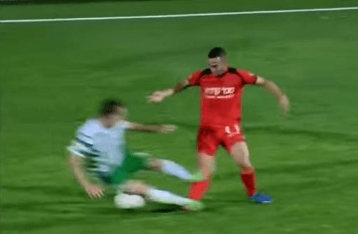 Rafi Dahan Israeli Midfielder Rafi Dahan 25 Forced To Retire One