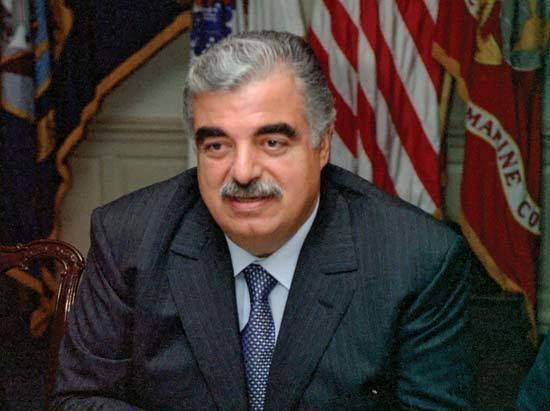 Rafic Hariri Rafiq alHariri prime minister of Lebanon Britannicacom
