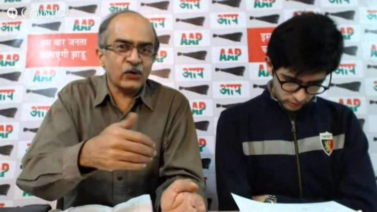 Raghav Chadha Hangout On AAP Delhi Manifesto with Prashant Bhushan Raghav Chadha