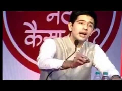 Raghav Chadha Raghav Chadha answering questions and clearing Doubts