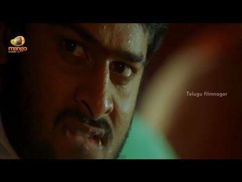 Raghavendra (film) movie scenes Prabhas controlling his temper Raghavendra Movie Scenes Swetha Brahmanandam