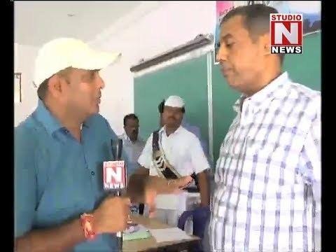 Raghunandan Rao Krishna district collector Raghunandan Rao on Counting Face to Face