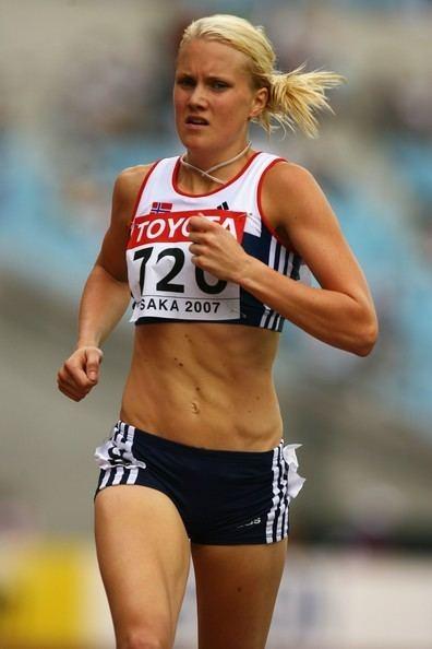 Ragnhild Kvarberg Ragnhild Kvarberg in IAAF World Athletics Championship Day Five