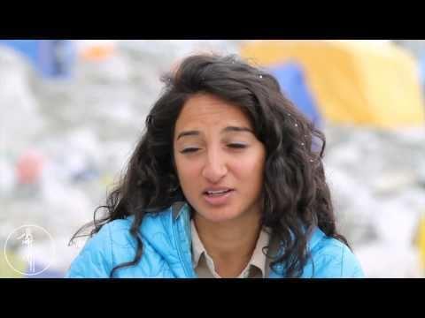 Raha Moharrak Raha Moharrak on Mount Everest YouTube