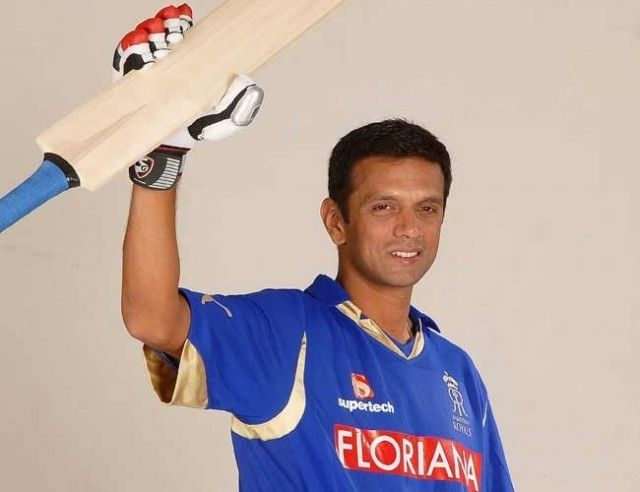 Rahul Dravid (Cricketer) in the past
