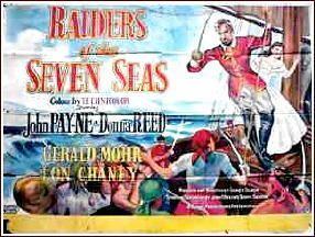 Raiders of the Seven Seas Movie Review RAIDERS OF THE SEVEN SEAS 1953