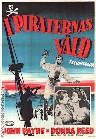 Raiders of the Seven Seas Raiders of the Seven Seas poster 1953 John Payne original
