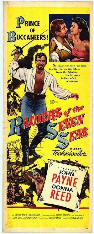 Raiders of the Seven Seas Raiders of the Seven Seas movie posters at movie poster warehouse