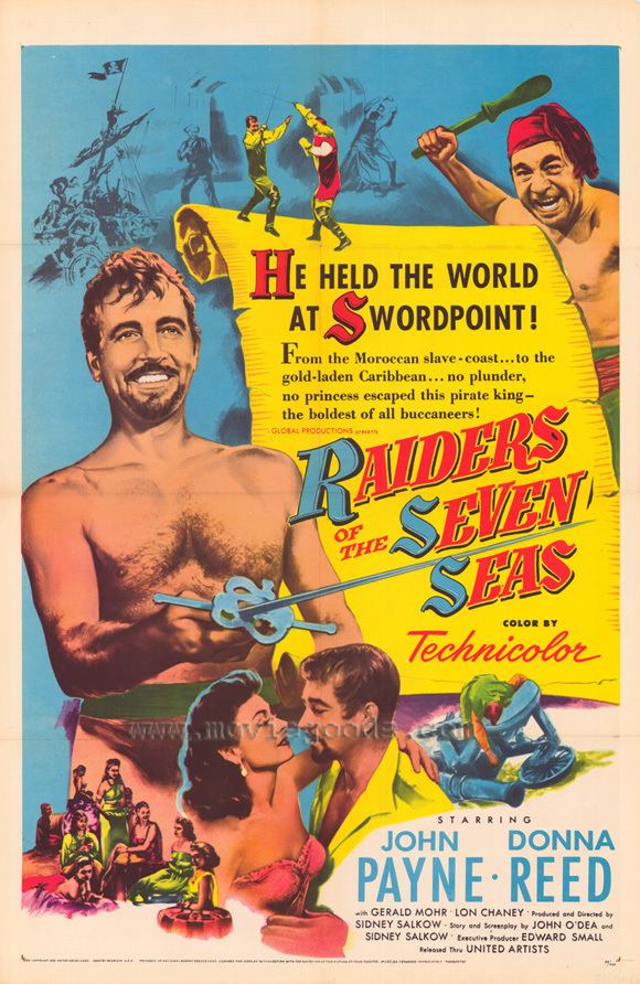 Raiders of the Seven Seas Raiders of the Seven Seas Movie Posters From Movie Poster Shop
