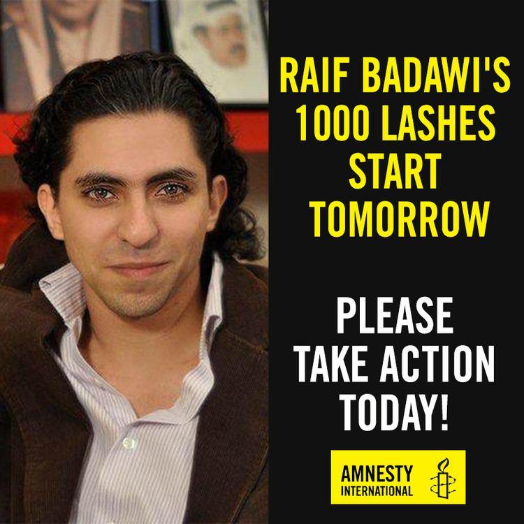 Raif Badawi Flogging of Raif Badawi in Saudi Arabia 39vicious act of