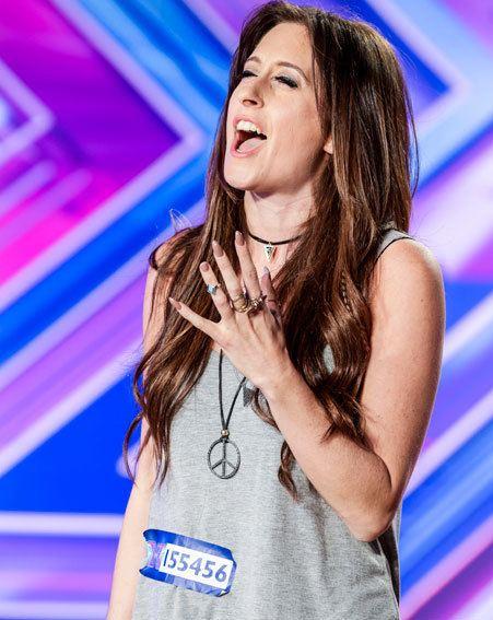 RAIGN The X Factor 2014 Show hopeful Raign Rabin39s secret chart