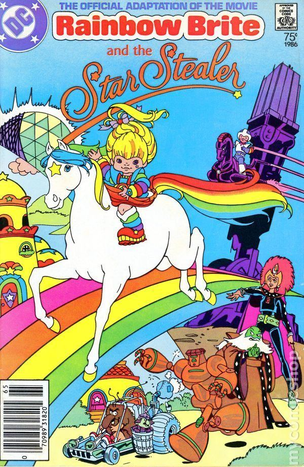 Rainbow Brite and the Star Stealer Rainbow Brite and the Star Stealer 1986 comic books