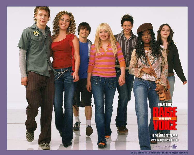 Raise Your Voice Watch Streaming HD Raise Your Voice starring Hilary Duff John