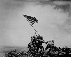 Raising the Flag on Iwo Jima httpsuploadwikimediaorgwikipediaenthumba