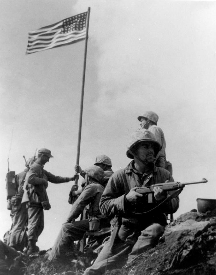 Raising the Flag on Iwo Jima Raising the Flag on Iwo Jima Wikipedia