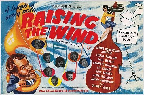 Raising the Wind (1961 film) Raising The Wind movie posters at movie poster warehouse moviepostercom