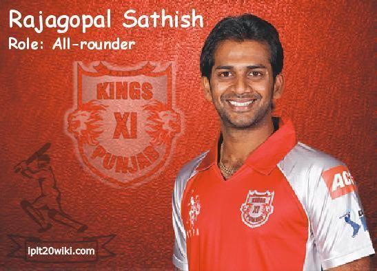 Rajagopal Sathish Rajagopal Sathish Kings XI Punjab KXIP IPL 2013
