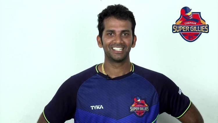 Rajagopal Sathish Sathish Rajagopal is happy to be a part of the Chepauk Super Gillies