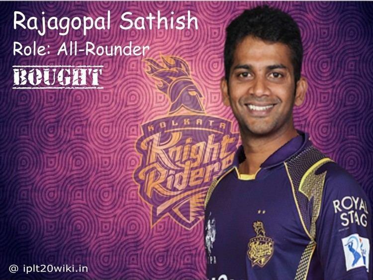 Rajagopal Sathish Rajagopal Sathish Kolkata Knight Riders KKR IPL 2016 Player