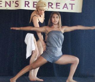 Rajashree Choudhury Bikram Yoga Womens Retreat