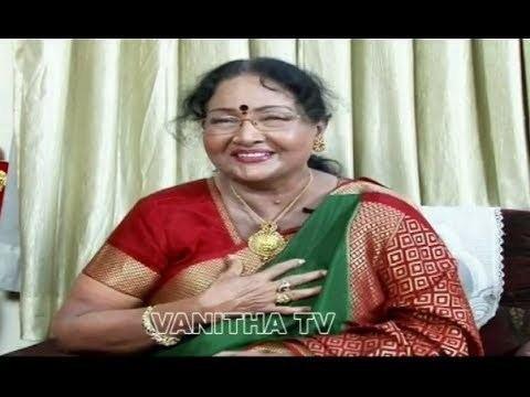Rajasree Senior Actress Rajasree Special Interview Part 4 5 YouTube