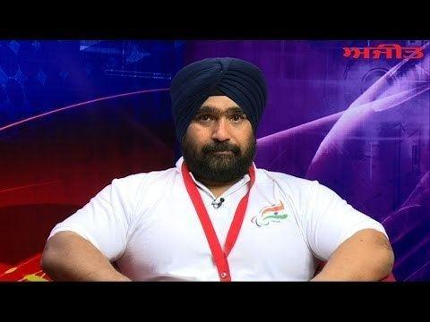 Rajinder Singh Rahelu Glasgow Commonwealth Silver Medal Winner of ParaSportsman