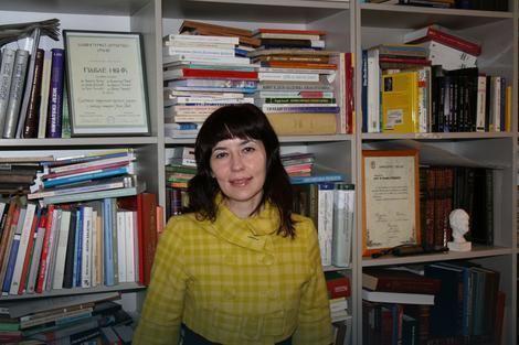 Rajna Dragićević Profesorka Rajna Dragievi odrala govor koji e studenti pamtiti