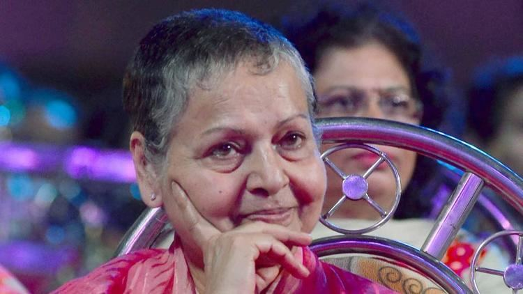 Rakhee Gulzar Rakhee Gulzar makes a rare appearance at a Mumbai event bollywood