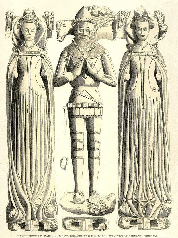 Ralph Neville Ralph Neville 1st Earl of Westmorland 13641425 Nevill