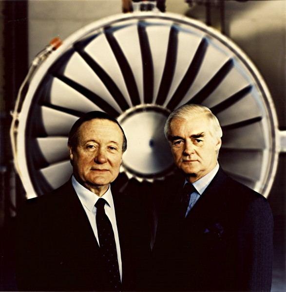 Ralph Robins Portrait Sir Francis Tombs and Mr Ralph Robins