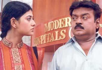 Ramanaa (film) BizHatcom Ramana Review Vijaykanth Simran Yugi Sethu Mukesh