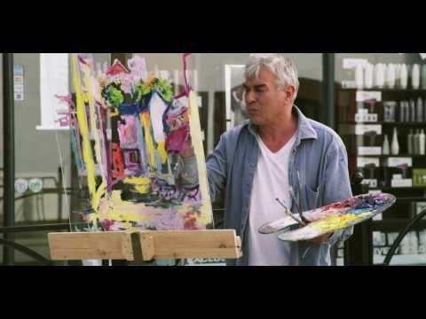 Ramie Leahy Artist Ramie Leahy painting Kieran Street in Kilkenny City YouTube