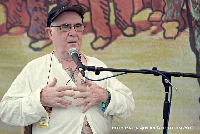 Ramón Chao Rototom 2012 Ignacio Ramonet e Ramon Chao tra gli ospiti Udine 20