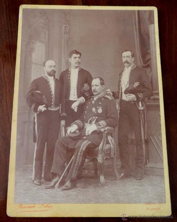 Ramón Corona antigua fotografia albumina de ramon corona mad Comprar Postales