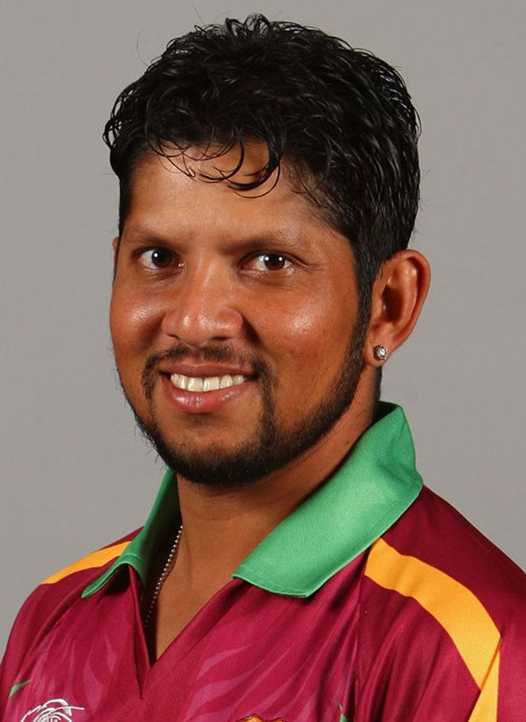 Ramnaresh Sarwan (Cricketer) in the past