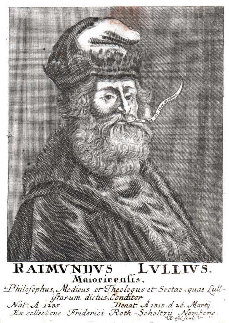 Ramon Llull Logical Machines for the Production of Knowledge 1305