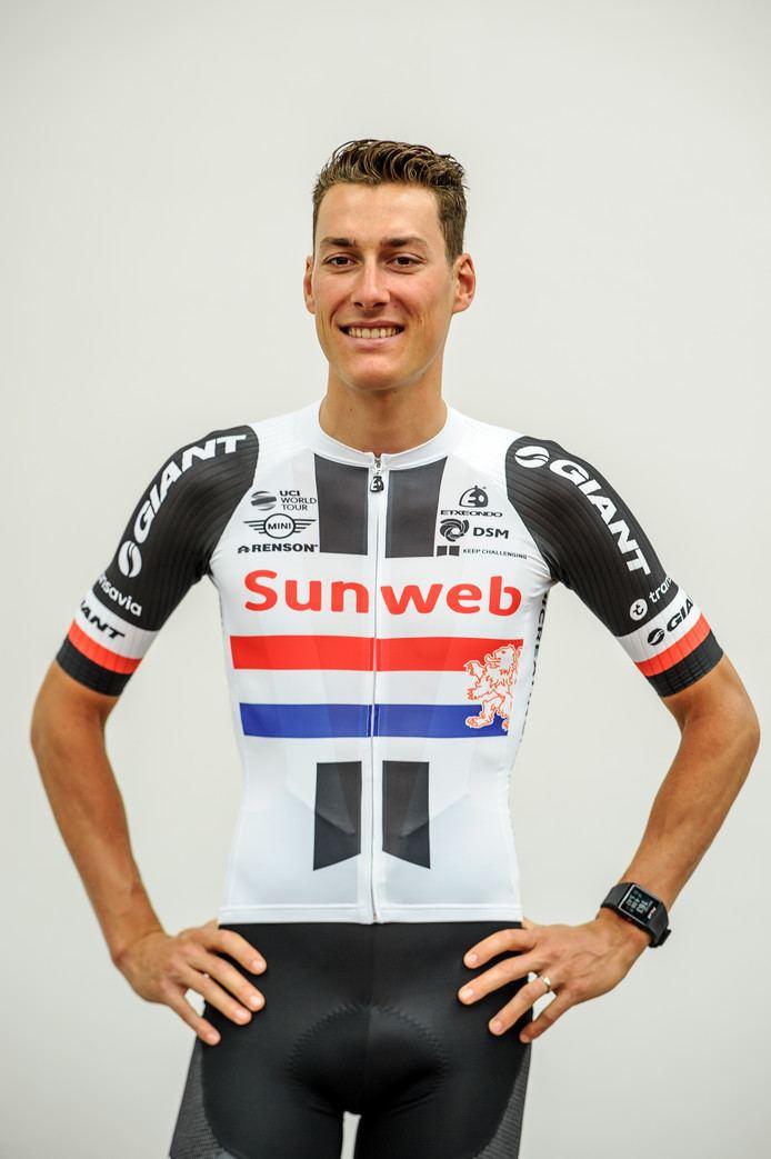 Ramon Sinkeldam Kampioenstrui Sinkeldam valt niet in de smaak bij wielerliefhebbers