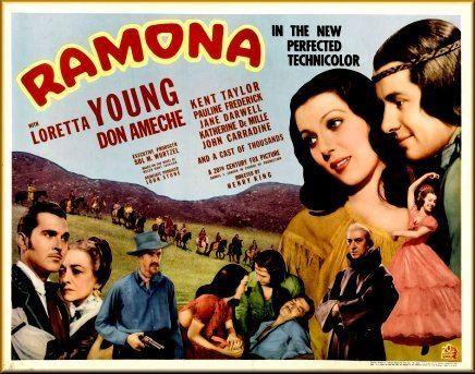 Ramona (1936 film) Ramona 1936 Henry King Loretta Young Don Ameche Kent Taylor